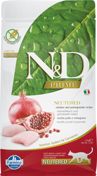 N&D Prime Cat Chicken & Pomegranate Neutered